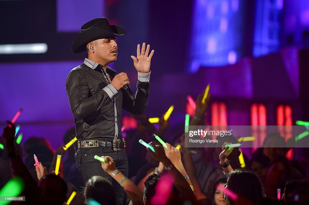 Espinoza Paz onstage during the Univision's Premios Juventud Awards at Bank United Center on July 19, 2012 in Miami, Florida.