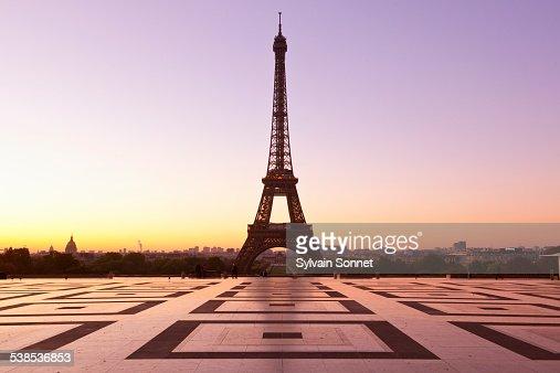 Esplanade du Trocadero, Paris