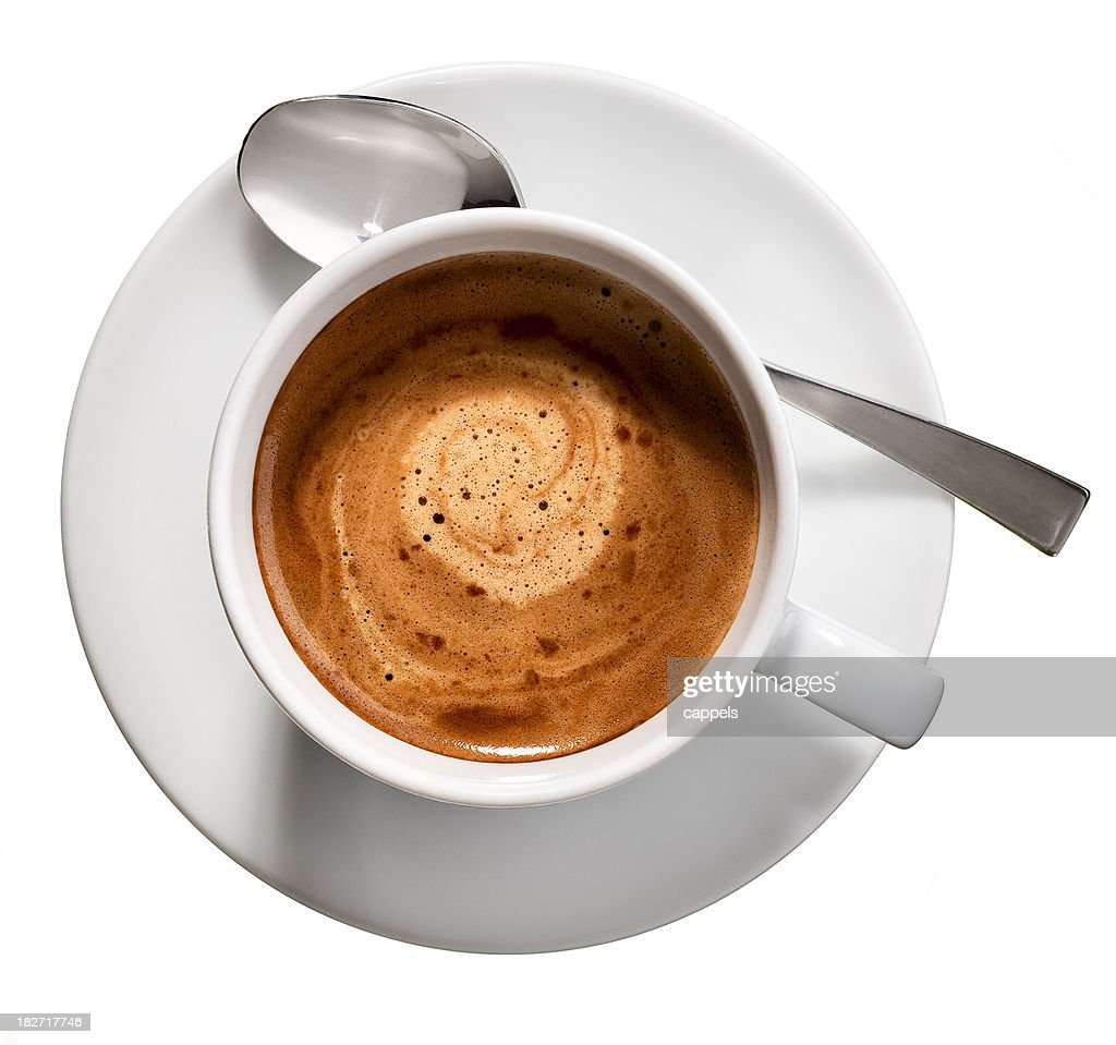 Espresso coffee cup.Color image : Stock Photo