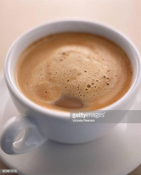 Espresso in demitasse cup