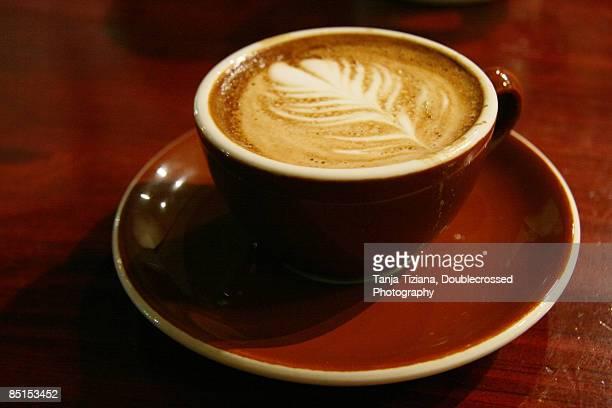 Espresso Macchiato coffee art