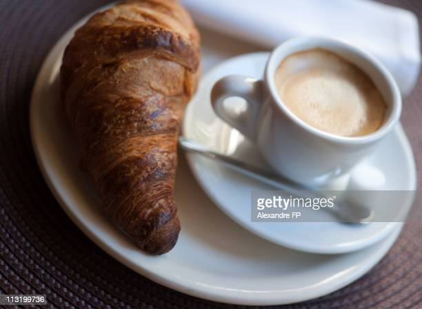 Espresso with Croissant