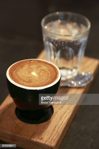 Espresso with water