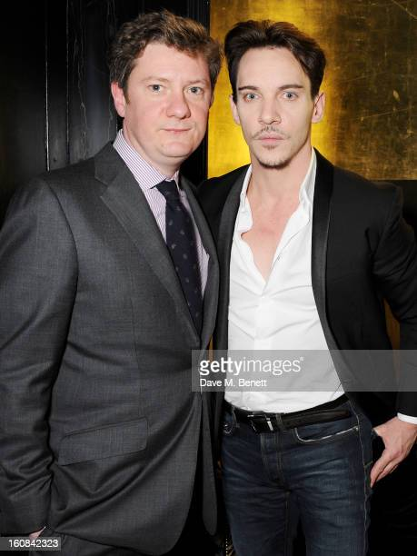 Esquire editor Alex Bilmes and Jonathan Rhys Meyers attend the PreBAFTA Party hosted by EE and Esquire ahead of the 2013 EE British Academy Film...