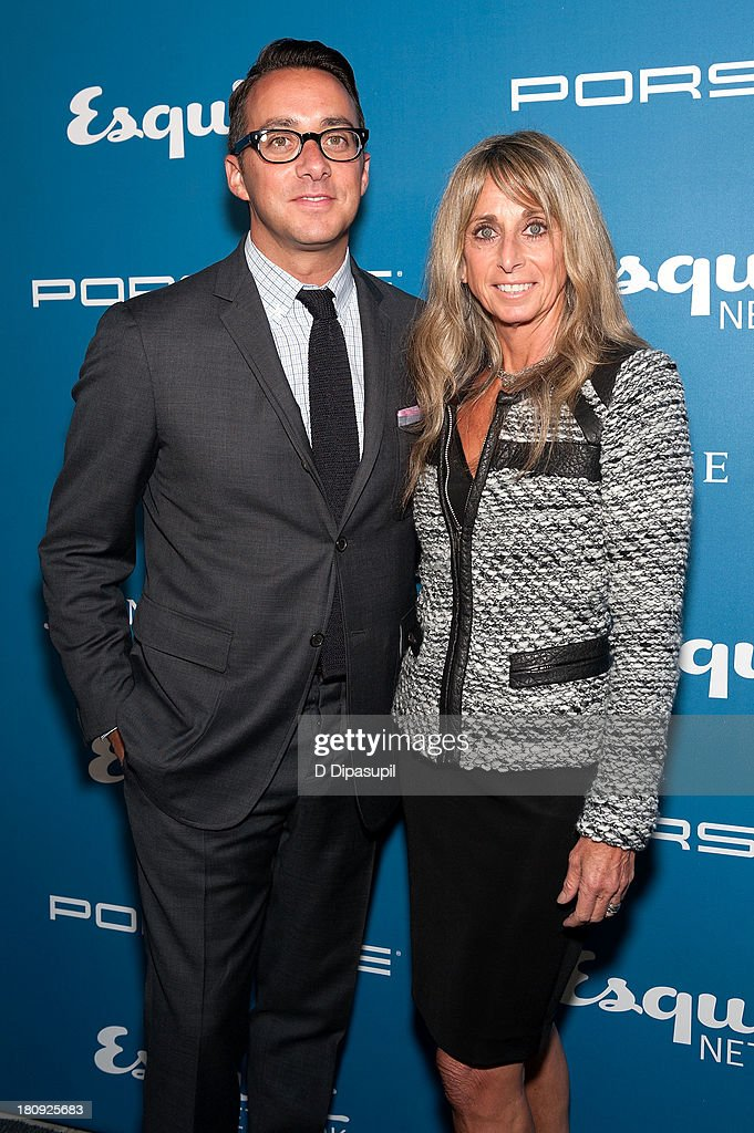 Esquire Network General Manager Adam Stotsky (L) and NBCUniversal Cable Entertainment Group Chairman <a gi-track='captionPersonalityLinkClicked' href=/galleries/search?phrase=Bonnie+Hammer&family=editorial&specificpeople=223874 ng-click='$event.stopPropagation()'>Bonnie Hammer</a> attend the Esquire 80th Anniversary And Esquire Network Launch Celebration at Highline Stages on September 17, 2013 in New York City.