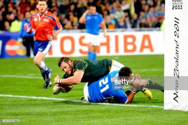 Essai Danie Rossouw Afrique du Sud / Namibie Coupe du Monde de Rugby 2011