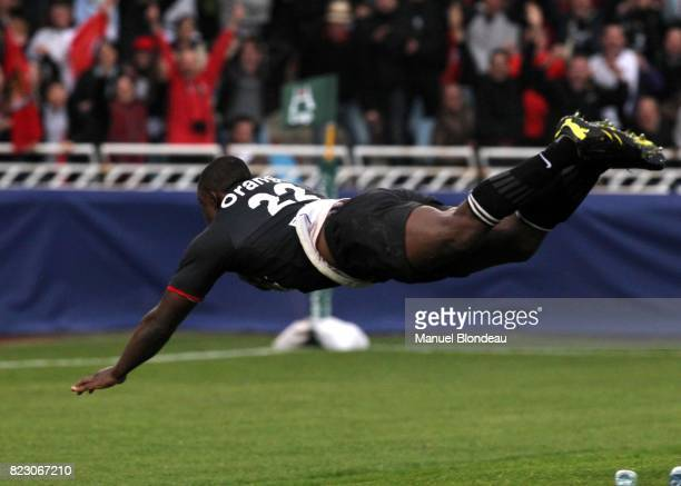 essai de Yannick Nyanga Biarritz / Toulouse 1/4 de Finale Heineken Cup Stade Anoeta