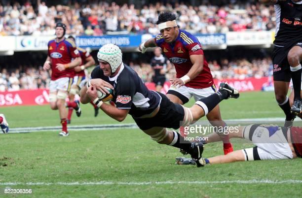 Essai Steven SYKES Sharks / Highlanders Vodacom Super 14 Durban
