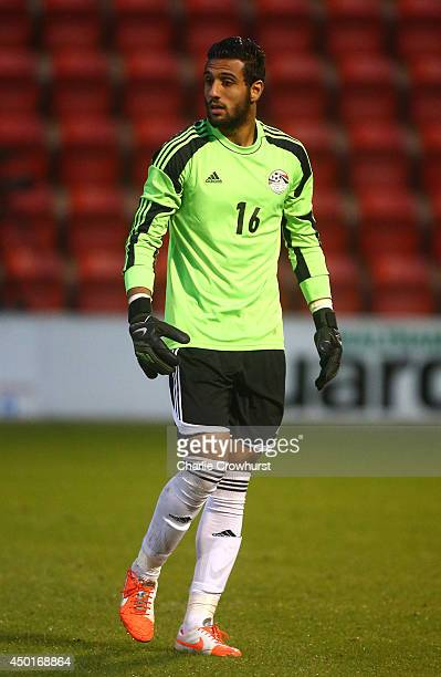 Essam El Hadary of Egypt during the International Friendly match between Jamacia and Egypt at The Matchroom Stadium on June 04 2014 in London England
