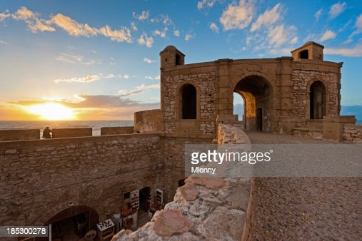 Essaouira Fortress Sunset Morocco