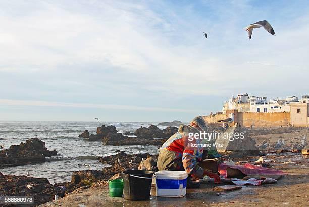 Essaouira harbour area