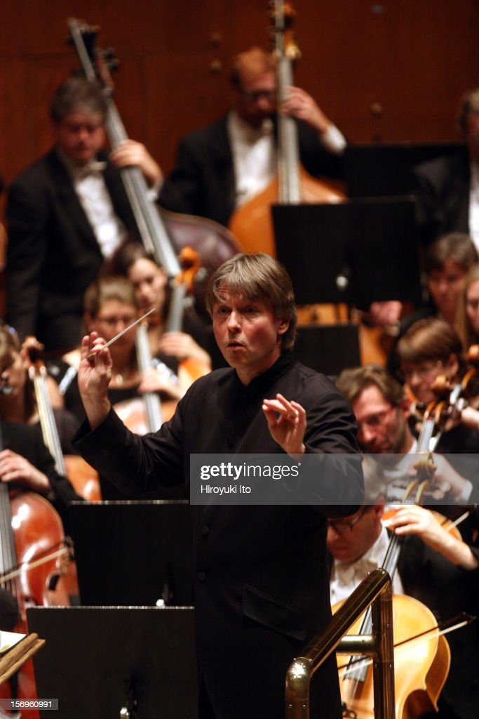 Essa-Pekka Salonen leading the Philharmonia Orchestra in Mahler's 'Symphony No. 9 in D major' as part of Lincoln Center's White Light Festival at Avery Fisher Hall on Sunday afternoon, November 18, 2012.