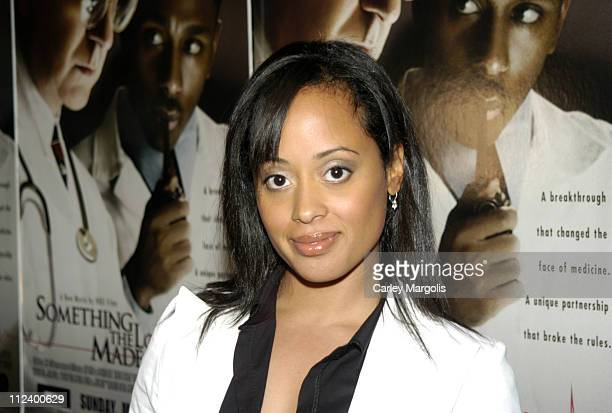 Essence Atkins during 'Something The Lord Made' New York Premiere at Paris Theatre in New York City New York United States