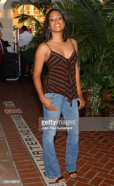 Essence Atkins during UPN All Star Summer Party at Shutters in Santa Monica California United States