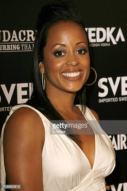 Essence Atkins during Vanity Fair Presents the 2006 Svedka Erotica Reading Series at Shag in Los Angeles California United States