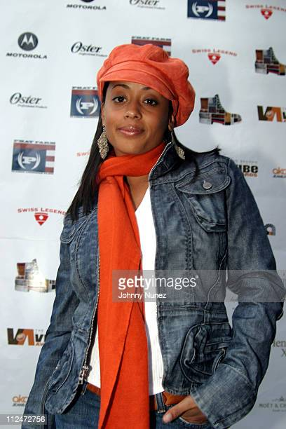 Essence Atkins during VIBE Celebrity Cabana at Viceroy Hotel in Santa Monica California United States