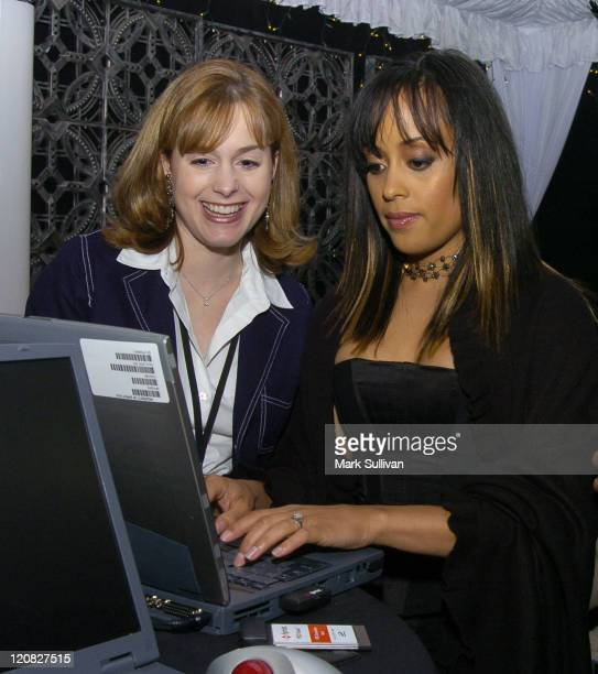 Essence Atkins in Backstage Creations Talent Retreat
