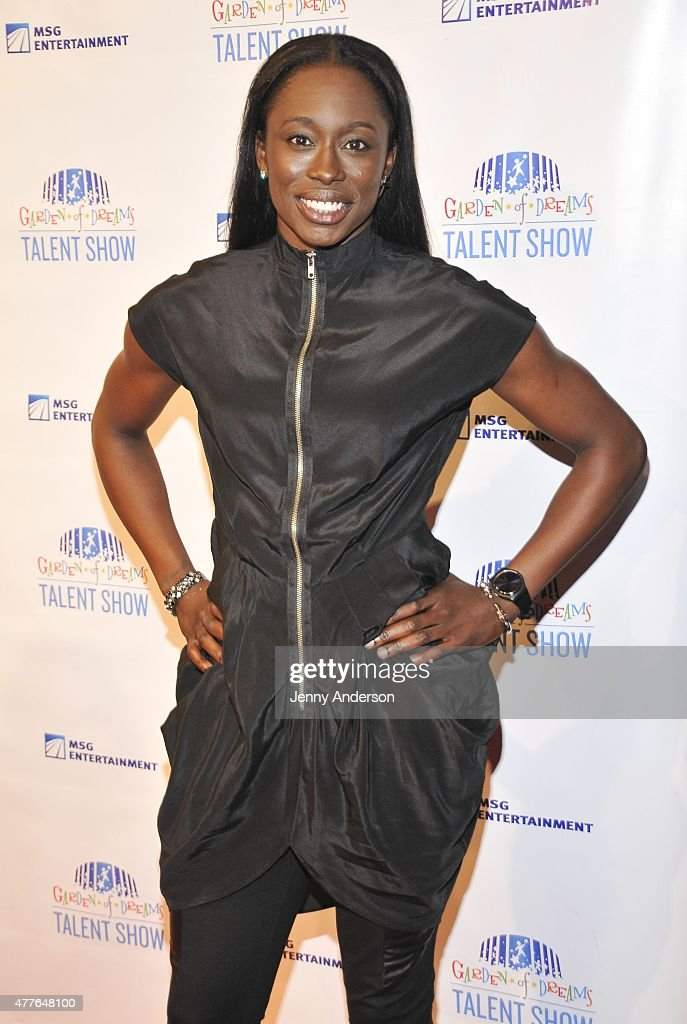 Essence Carson attends Garden of Dreams Foundation Children Talent Show at Radio City Music Hall on June 18, 2015 in New York City.