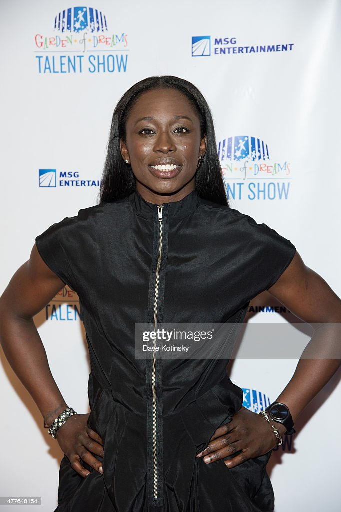 Essence Carson attends the Garden Of Dreams Foundation Children Talent Show at Radio City Music Hall on June 18, 2015 in New York City.