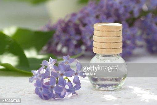 Essential aroma oil : Stock Photo