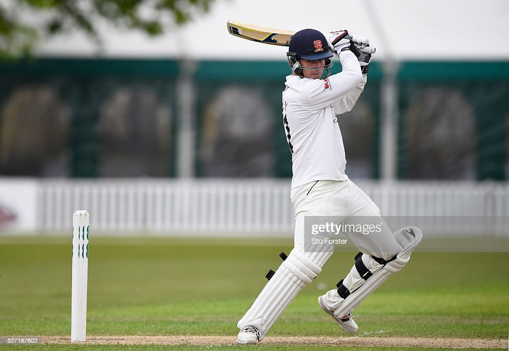 Essex batsman Tom Westley picks up some runs during his century on day two of the Specsavers County Championship Division Two match between Worcestershire and Essex at New Road on May 2, 2016 in Worcester, England.
