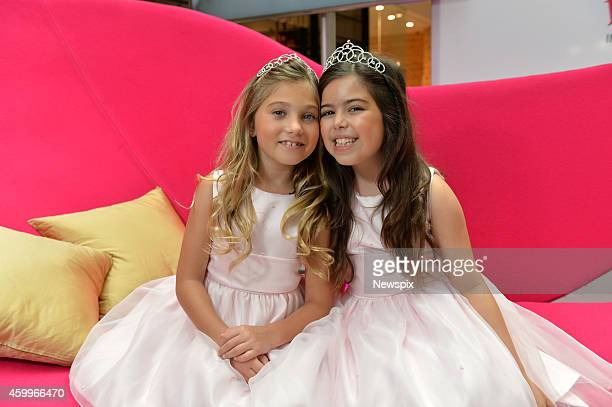 Essex pair Sophia Grace Brownlee and Rosie McClelland who rose to fame with a YouTube video singing a cover of Nicki Minaj's 'Superbass' visit...