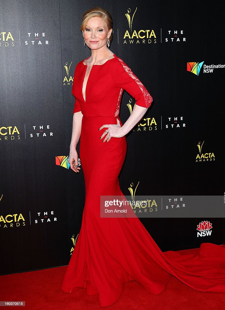 Essie Davis arrives for the 2nd Annual AACTA Awards at The Star on January 30, 2013 in Sydney, Australia.