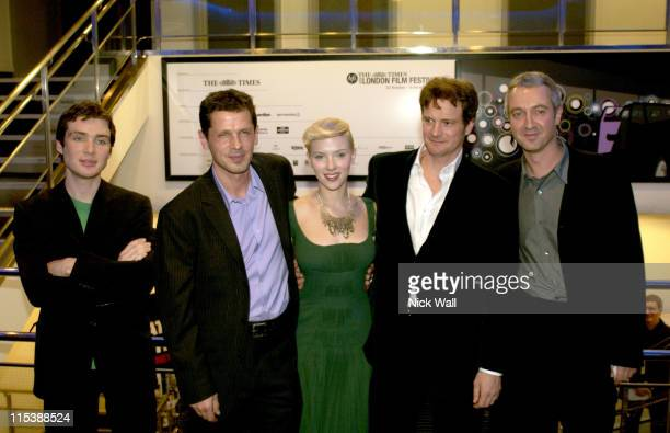 Essie Davis Paul Webber Scarlett Johansson Colin Firth and Andy Paterson