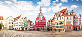 high resolution panoramic  image of Esslingen am Neckar historical medieval