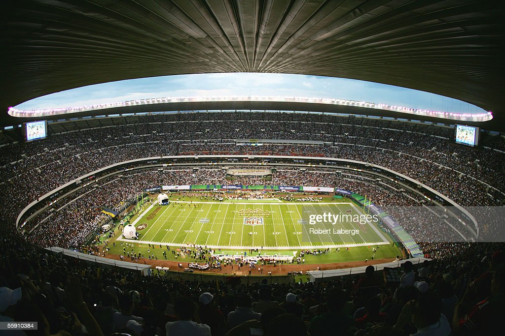 Estadio Azteca is shown during the Arizona Cardinals game against the San Francisco 49ers on October 2, 2005 in Mexico City, Mexico. The Cards defeated the Niners 31-14.
