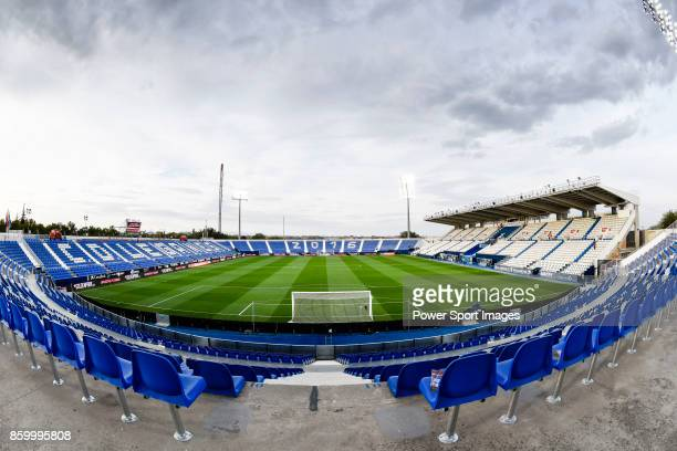 Estadio Municipal Butarque is seen prior to the La Liga 201718 match between CD Leganes and Atletico de Madrid on 30 September 2017 in Madrid Spain
