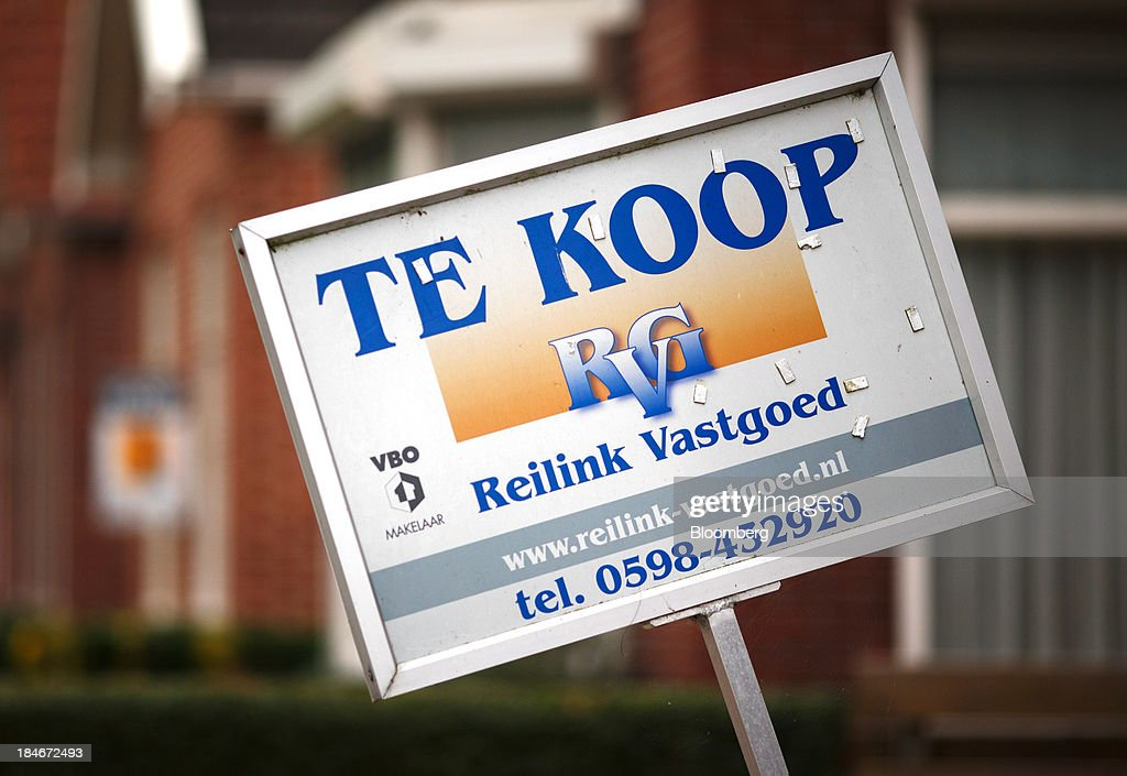 Dutch homes as real estate prices fall getty images for Residential windows for sale