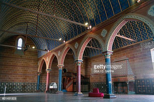 EstatesGeneral hall 13th century Royal castle of Blois Loire valley Centre region France