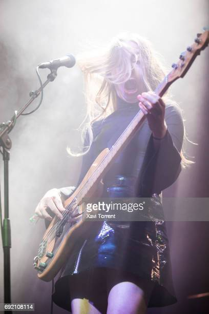 Este Haim of Haim performs in concert during day 4 of Primavera Sound 2017 on June 3 2017 in Barcelona Spain