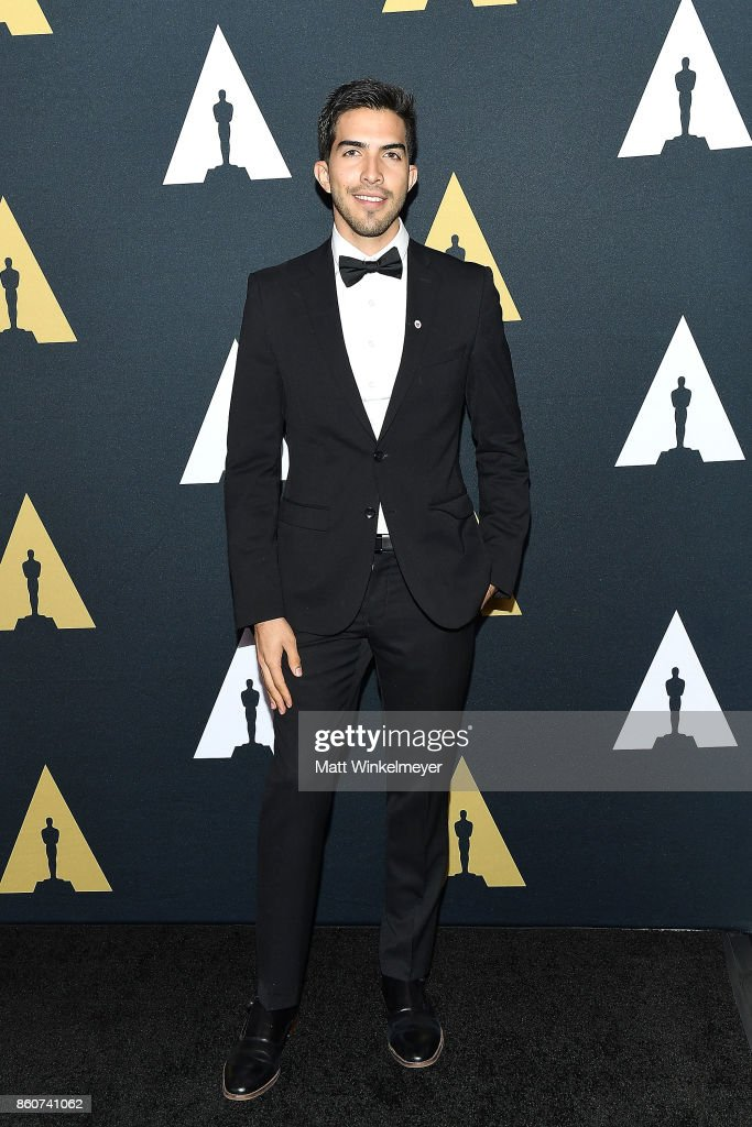 Esteban Bravo attends the Academy of Motion Picture Arts and Sciences 44th Student Academy Awards at Samuel Goldwyn Theater on October 12, 2017 in Beverly Hills, California.