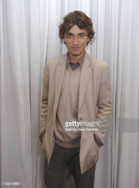 Esteban Cortazar during Olympus Fashion Week Fall 2006 Esteban Cortazar Presentation at Michael Atchison Showroom in New York City New York United...