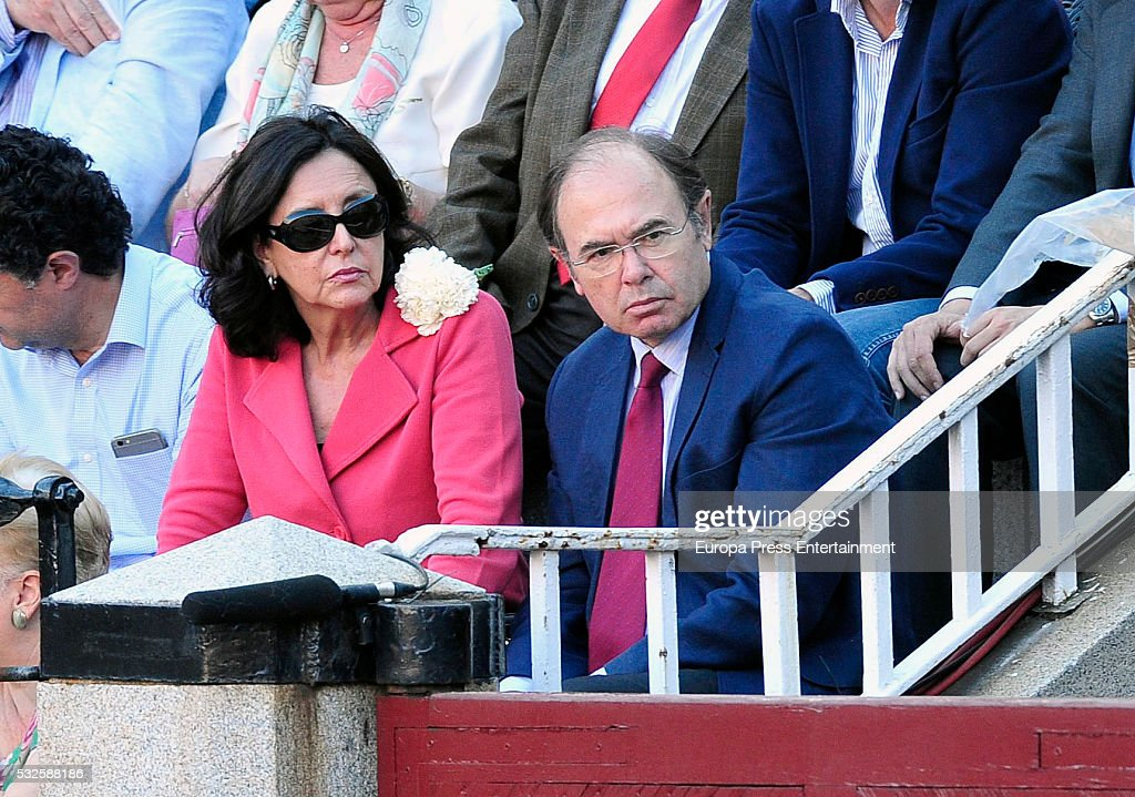 Esteban Gonzalez Pons attends bullfighting during San Isidro Fair at Las Ventas Bullring on May 18 2016 in Madrid Spain
