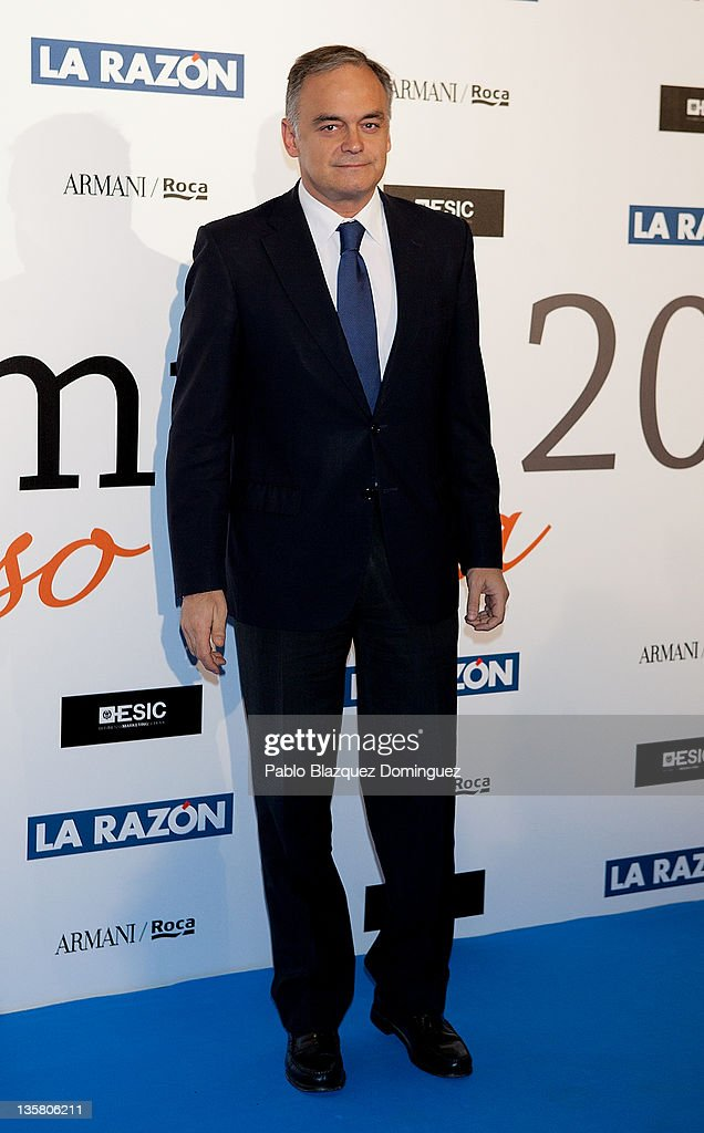 Esteban Gonzalez Pons attends the 'Alfonso Ussia Awards 2011' at La Razon headquarters on December 14 2011 in Madrid Spain