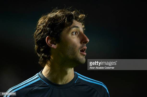 Esteban Granero of Real Sociedad looks on during La Liga match between Real Betis Balompie and Real Sociedad de Futbol at Benito Villamarin Stadium...
