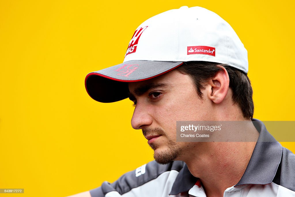 Esteban Gutierrez of Mexico and Haas F1 in the Paddock during previews ahead of the Formula One Grand Prix of Austria at Red Bull Ring on June 30, 2016 in Spielberg, Austria.