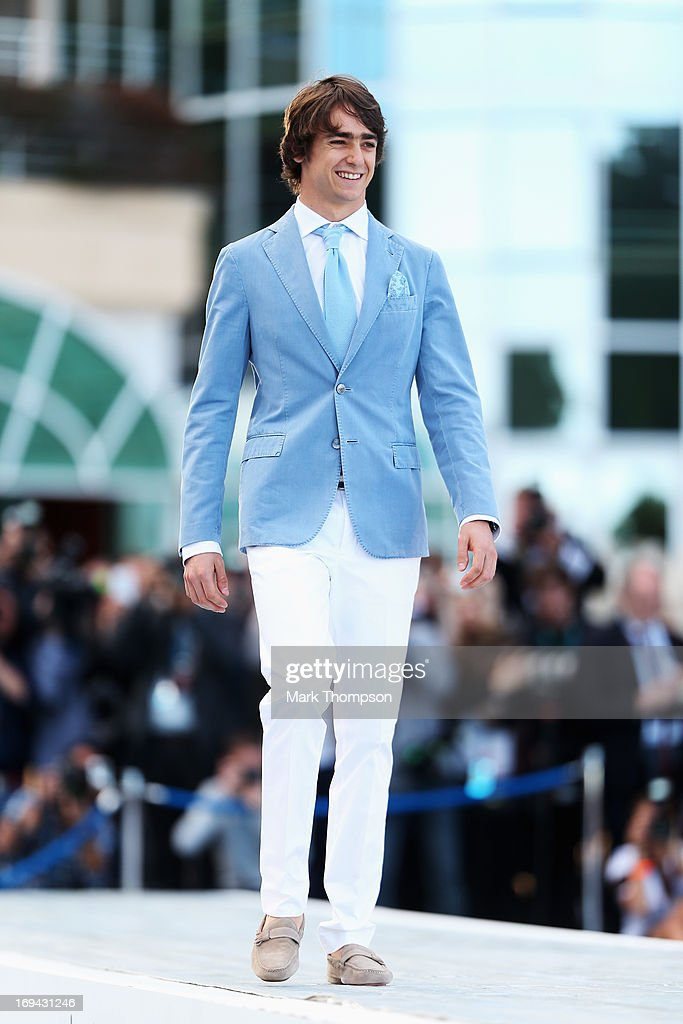 Esteban Gutierrez of Mexico and Sauber F1 attends the Amber Lounge Charity Fashion event at Le Meridien Beach Plaza Hotel on May 24, 2013 in Monaco, Monaco.
