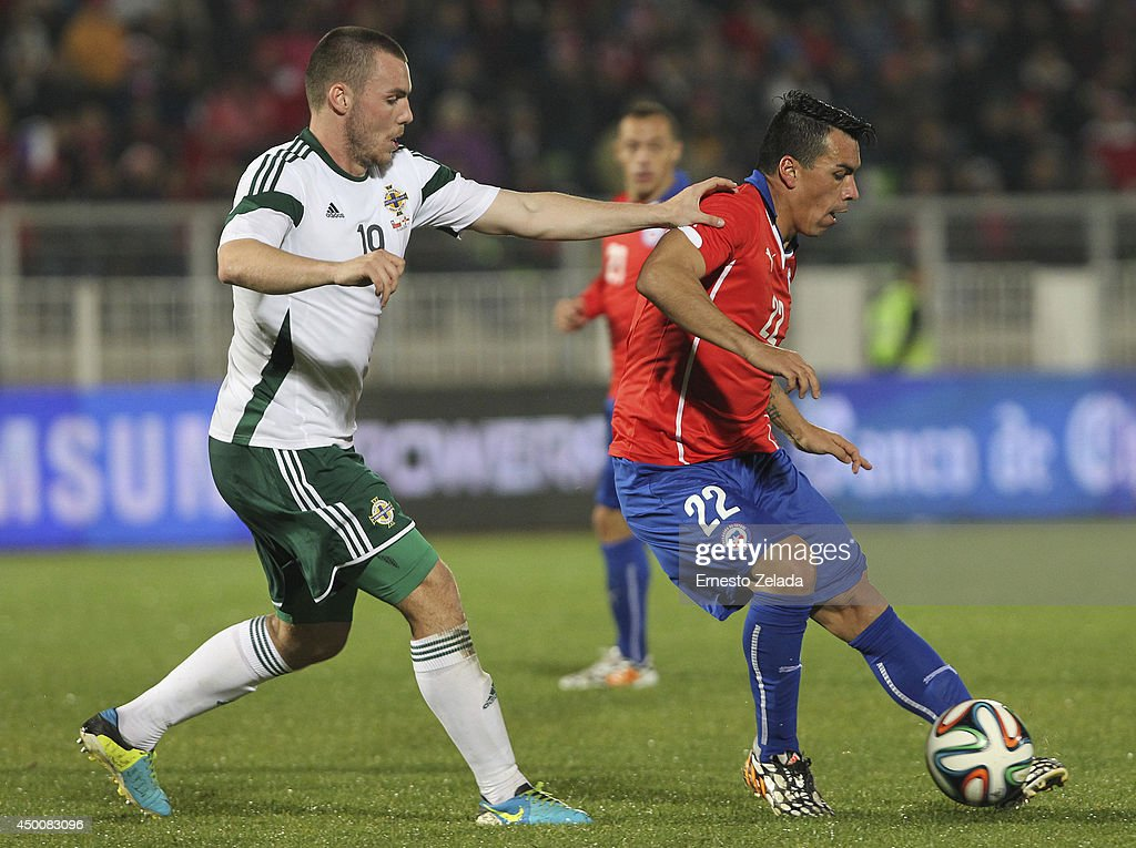 Chile v northern ireland fifa friendly match getty images for Esteban paredes fifa 18