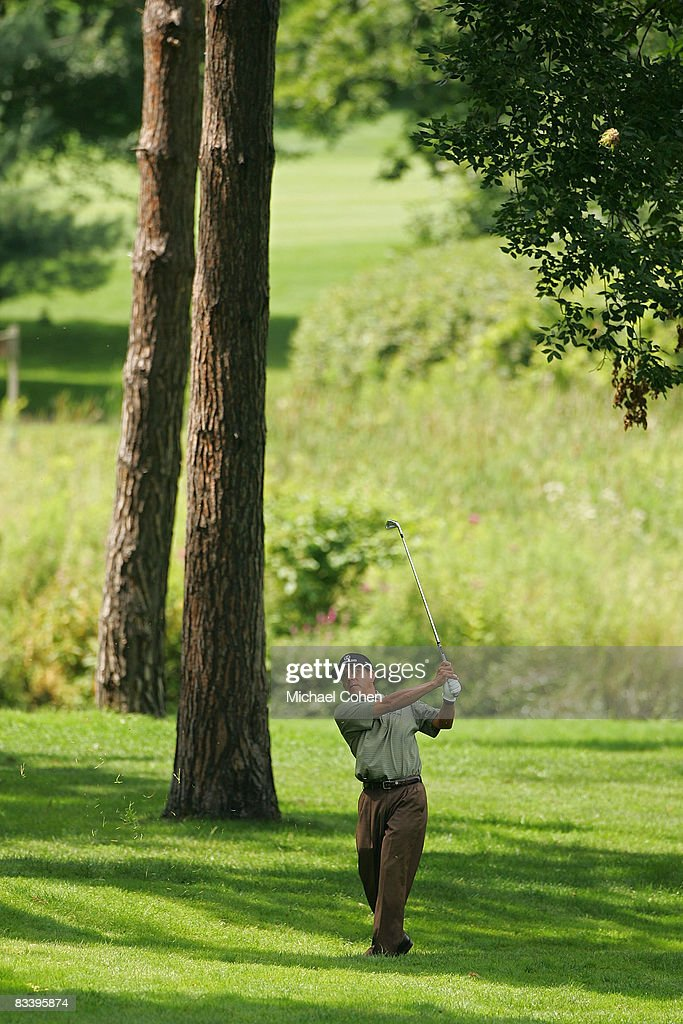 Esteban Toledo during the third round of the Xerox Classic at the Irondequoit Country Club held on August 16, 2008 in Rochester, New York.