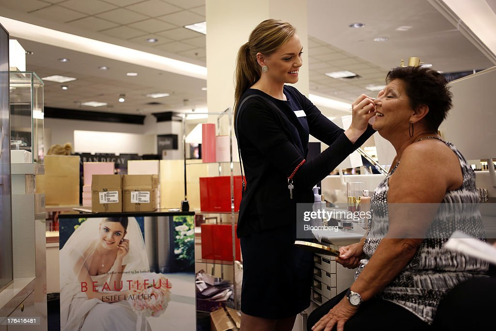 inside a macy 39 s department store ahead of earnings figures and retail sales getty images. Black Bedroom Furniture Sets. Home Design Ideas