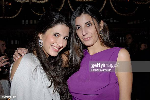 Estefania Lacayo and Lucia Tait attend COUP de COEUR Celebrates the Holidays with Shopping and Cocktails at FELICE WINE BAR at FELICE Wine Bar 1166...