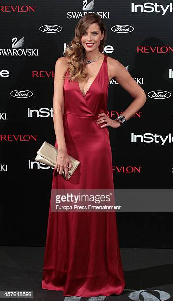Estefania Luyck attends the InStyle Magazine 10th anniversary party on October 21 2014 in Madrid Spain