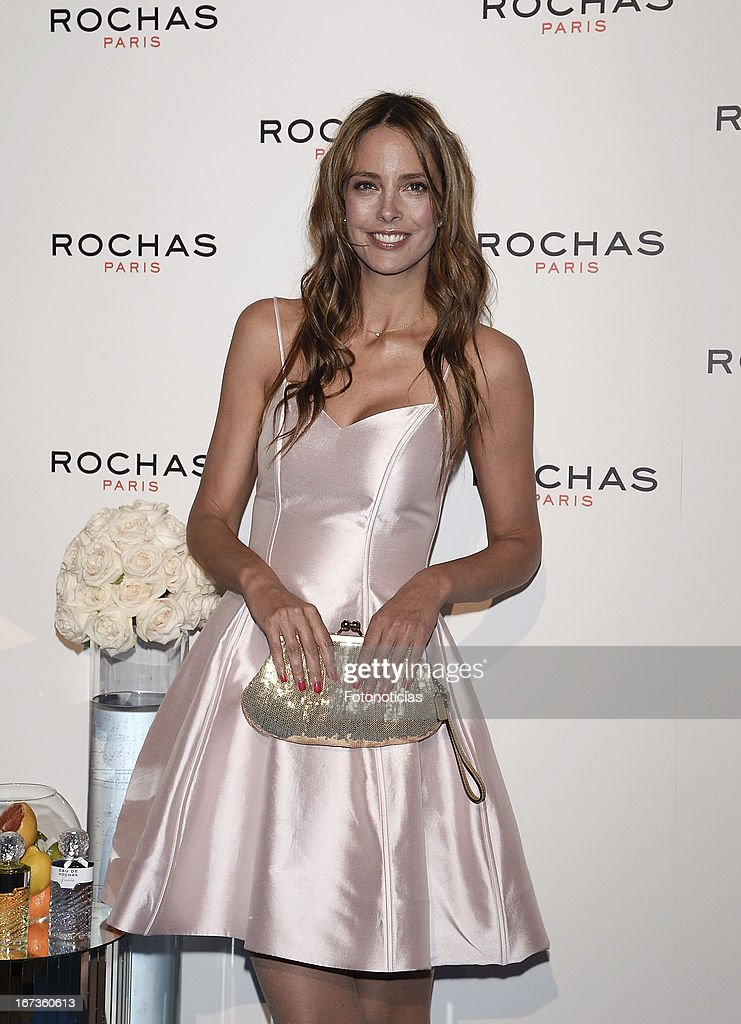 Estefania Luyck attends 'Tribut to Freshness and Rochas Women' event at the French embassy on April 24, 2013 in Madrid, Spain.
