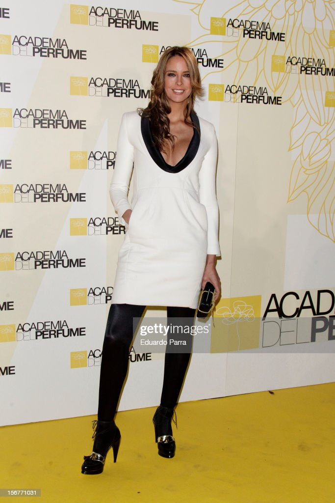 Estefania Luyk attends Academia del perfume awards photocall at Casa de America on November 20, 2012 in Madrid, Spain.