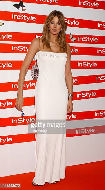 Estefania Luyk during In Style Magazine Spring Dinner at La Riviera Club in Madrid Spain