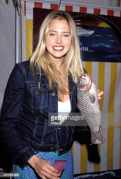 Estella Warren during 1999 'Kids for Kids' Carnival Elizabeth Glasser Pediatric Aids Foundation Fundraiser at Industria Studio in New York City New...